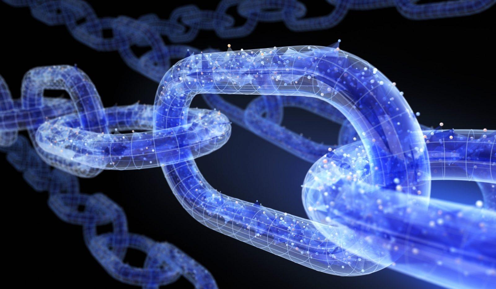 Blockchain Bildmotiv